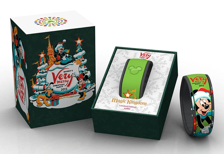 commemorative merchandise for mickeys very merry christmas party 2015 at magic kingdom park - Disney Mickey Christmas Party