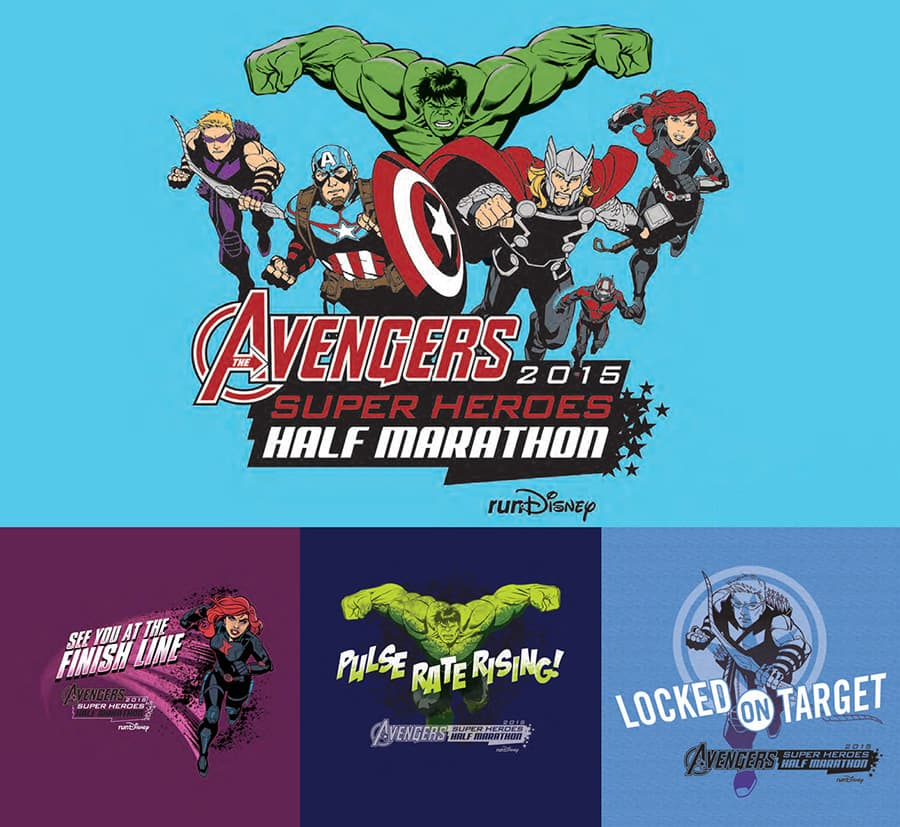 DLR Marvel Avengers Super Heroes Half Marathon Weekend runDisney