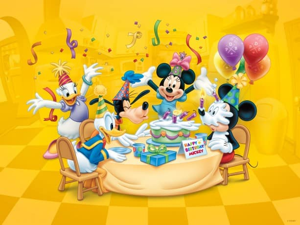 Download Our Happy Birthday Mickey Wallpaper Disney Parks Blog