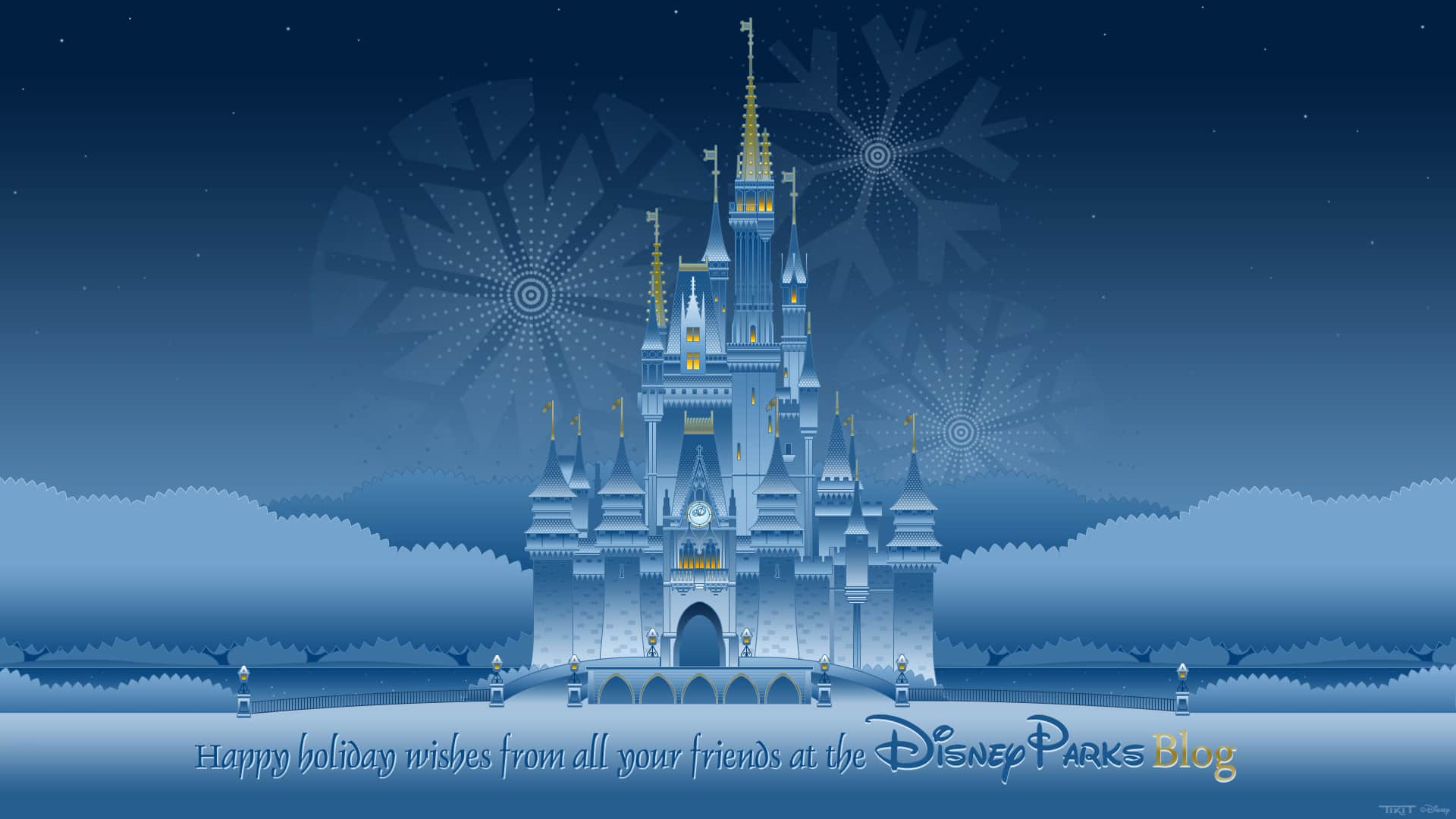 Walt Disney Christmas Wallpaper.Get Excited For The Season With 18 Holiday Disney Parks Blog
