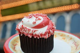 Peppermint Cupcake from Main Street Bakery