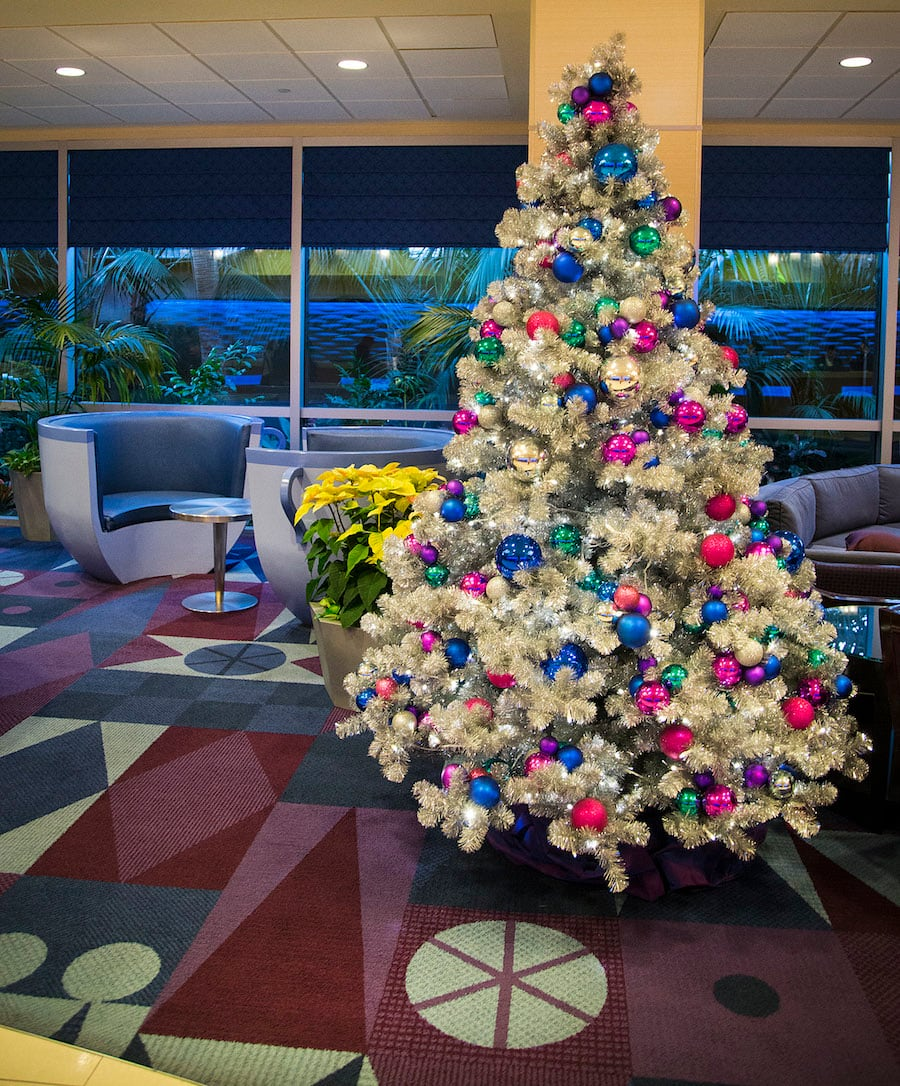 Rockin Around The Christmas Trees Of The Hotels Of The Disneyland