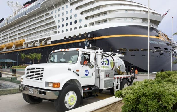 Disney Cruise Line Donates Used Cooking Oil