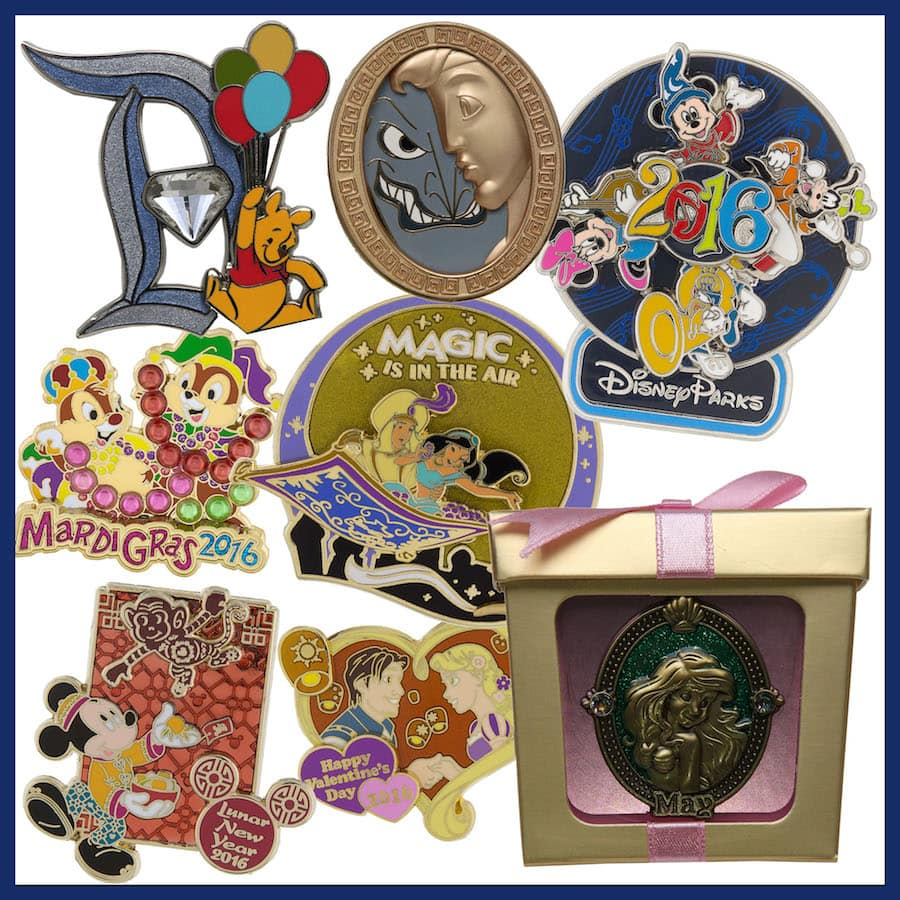 cc6526da39e Look Ahead at New Pins Coming to Disney Parks in 2016