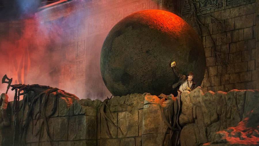 'The Indiana Jones Epic Stunt Spectacular' at Disney's Hollywood Studios