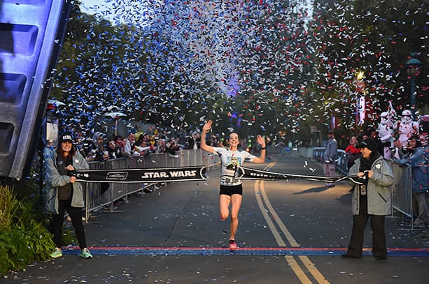 Annie Bersagel is First Female Finisher in Star Wars Half Marathon at the Disneyland Resort