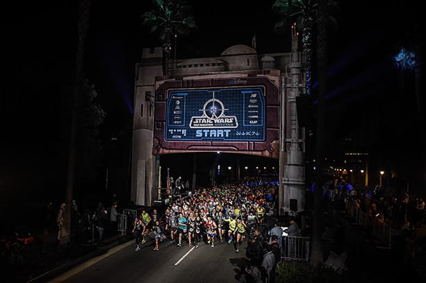 Star Wars Half Marathon at the Disneyland Resort