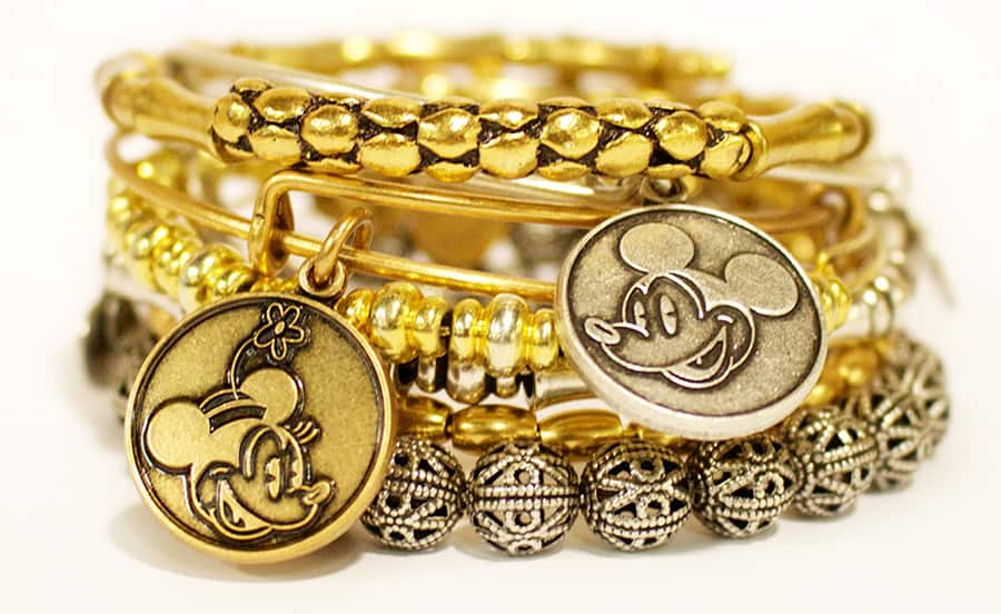 Mickey Mouse And Minnie Alex Ani Bangles Will Retire Beginning January 11 2017