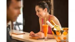 Senses Juice Bar on the Disney Dream