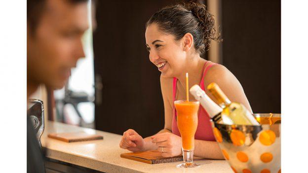 Senses Juice Bar on the Disney Dream
