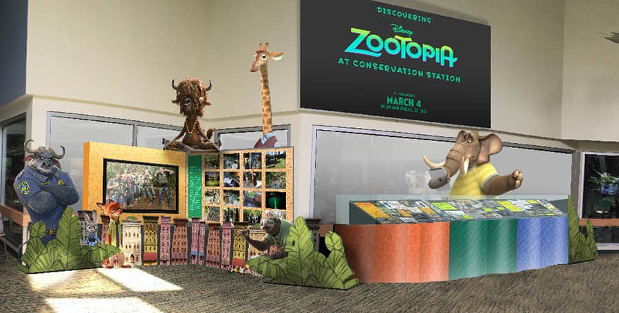 Discover the Real World Research Behind Walt Disney Animation Studios' 'Zootopia' in a New Exhibit Coming to Disney's Animal Kingdom