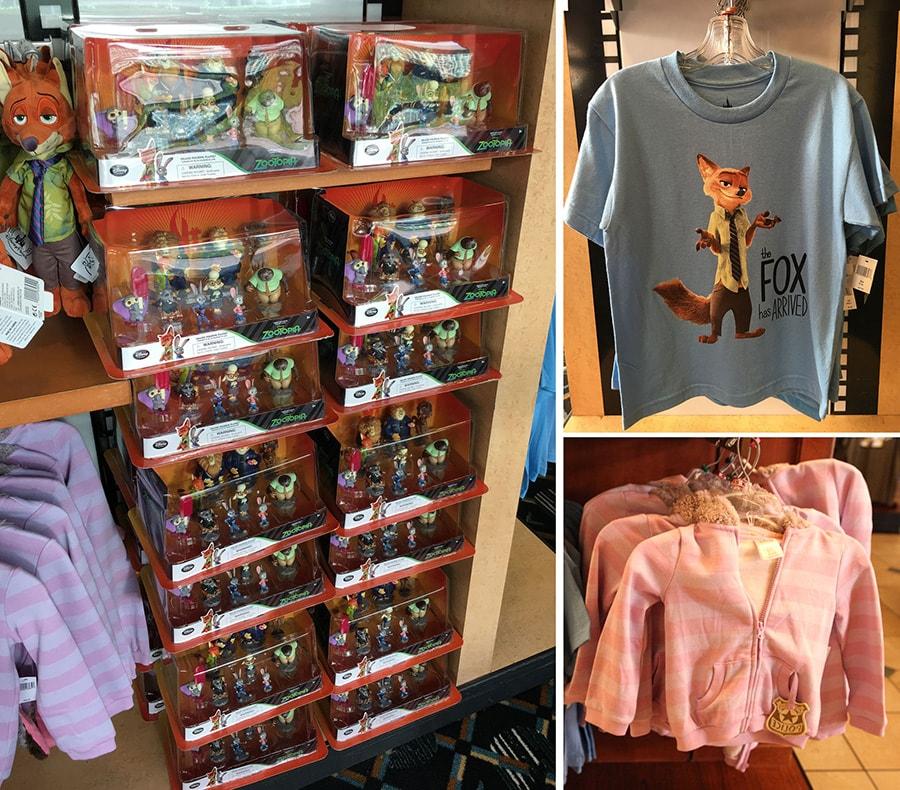 Zootopia Merchandise