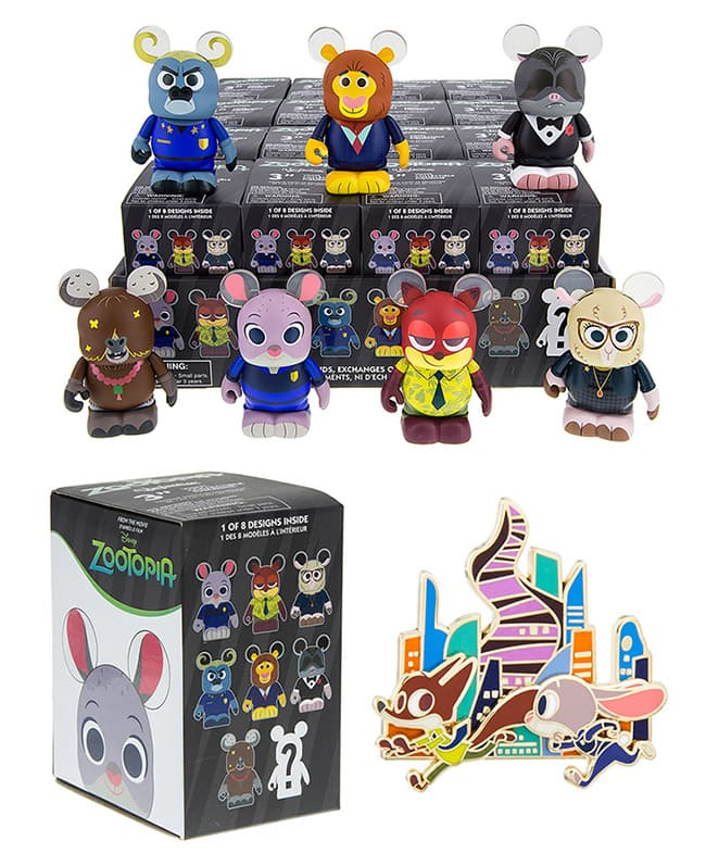 Zootopia Vinylmation and Pins