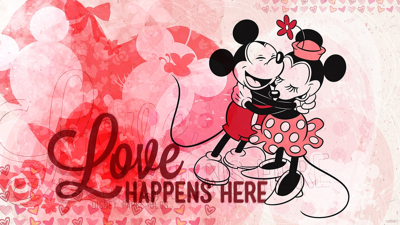 Download Our Disney Parks Valentine S Day Wallpapers Disney Parks Blog
