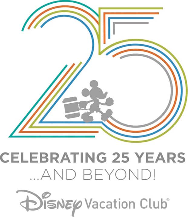 Celebrate 25 Years of Disney Vacation Club at Walt Disney World Resort