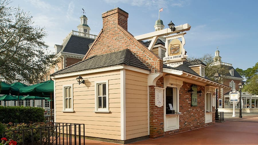 Fife and Drum Tavern at Epcot at Walt Disney World