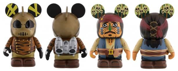 The Rocketeer and Captain Jack Sparrow Vinylmations Coming to the New Vinylmation Movieland Series