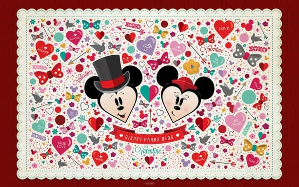 Download Our Disney Parks Candy Hearts Wallpaper Disney Parks Blog