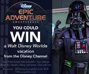 Disney channel adventure sweepstakes