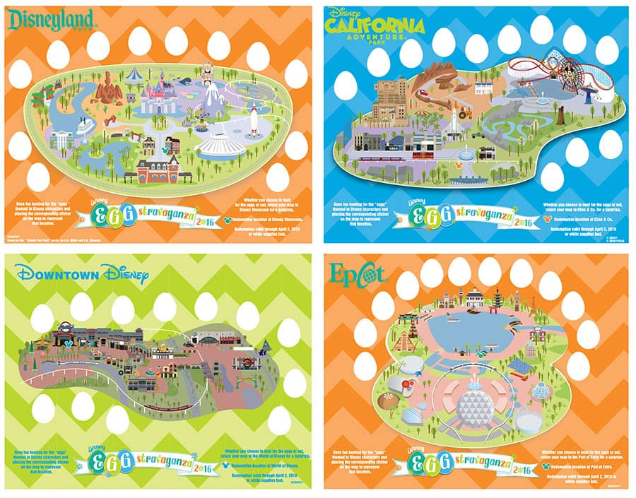The Egg-stravaganza Continues in 2016 at Disney Parks ... on disney springs map, lake buena vista map, magic kingdom map, disney monorail map, disneyland map, disney boardwalk map, disney animal kingdom map, disney resort map, seaworld map, california adventure map, epcot map, disney channel map, discovery cove map, disney parks map, typhoon lagoon map, disney quest map, anaheim map, disney world map, orlando map, disney area map,
