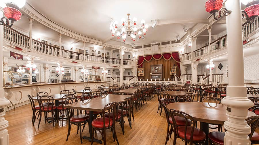 Table Service Dining Coming To The Diamond Horseshoe In