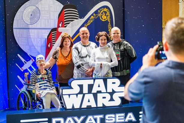 Star Wars Day at Sea Returns to Disney Cruise Line in Early 2018 on Select Disney Fantasy Sailings