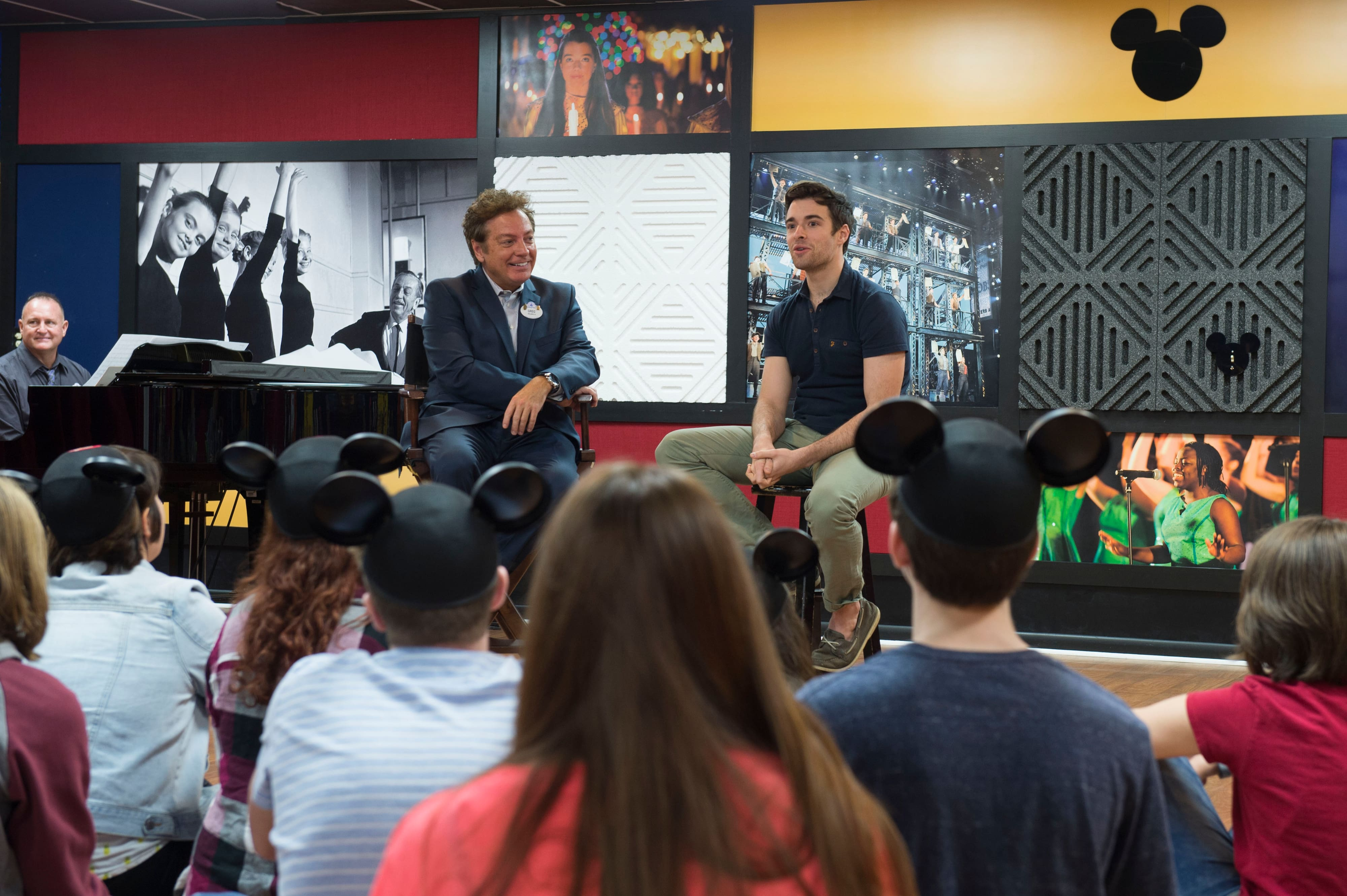 """Former """"Newsies"""" Star Returns to Disney Roots for a Special Disney Performing Arts Workshop Visit"""