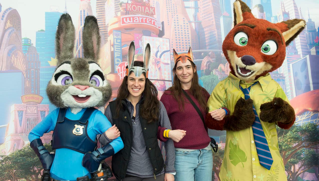 Disney Parks Blog Readers Applaud 'Zootopia' At Meet-Up