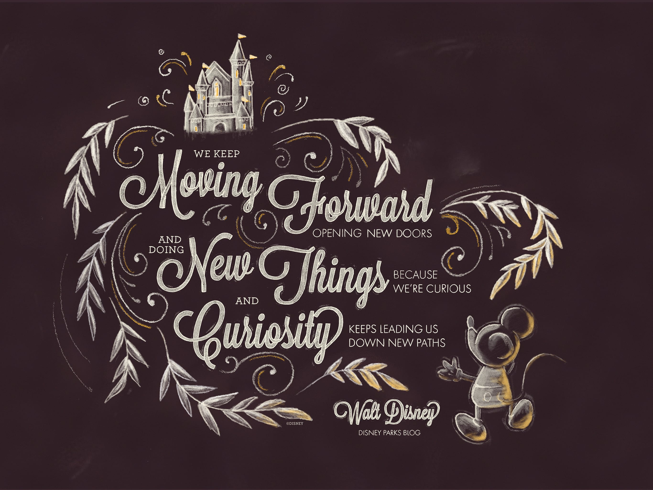 Exclusive Walt Disney Desktop Mobile Wallpaper Disney Parks Blog
