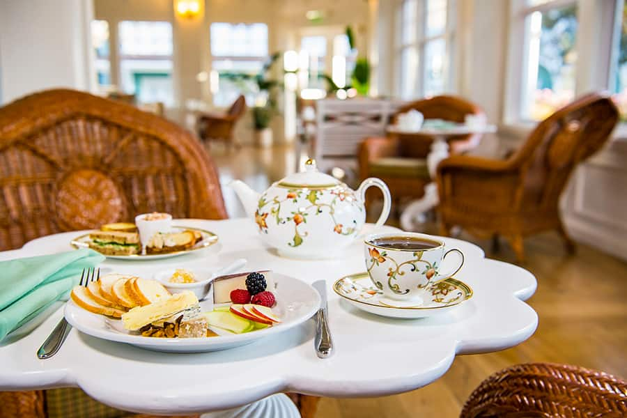 Afternoon Tea at Crescent Solarium at Disney's Beach Club Resort