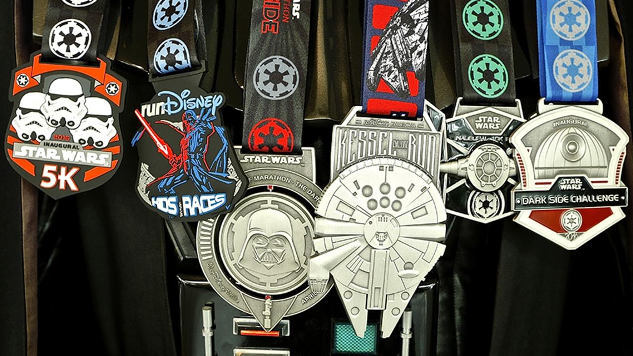 Medal Reveal for <em>run</em>Disney <em>Star Wars</em> Half Marathon – The Dark Side at Walt Disney World Resort
