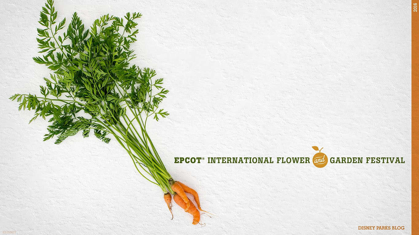 Epcot International Flower & Garden Festival Wallpapers Version 1