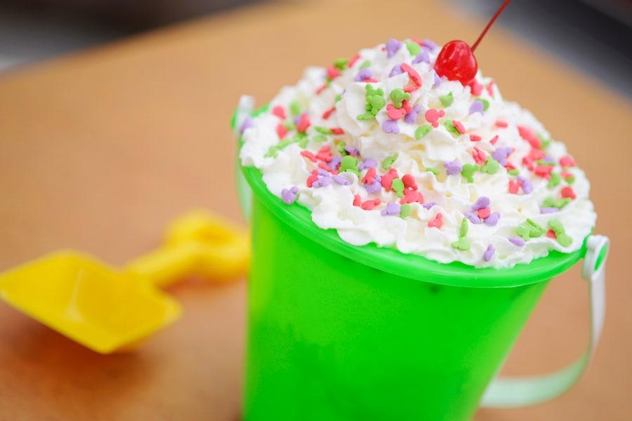 Sand Pail Ice Cream Bucket from Disney's Blizzard Beach Water Park