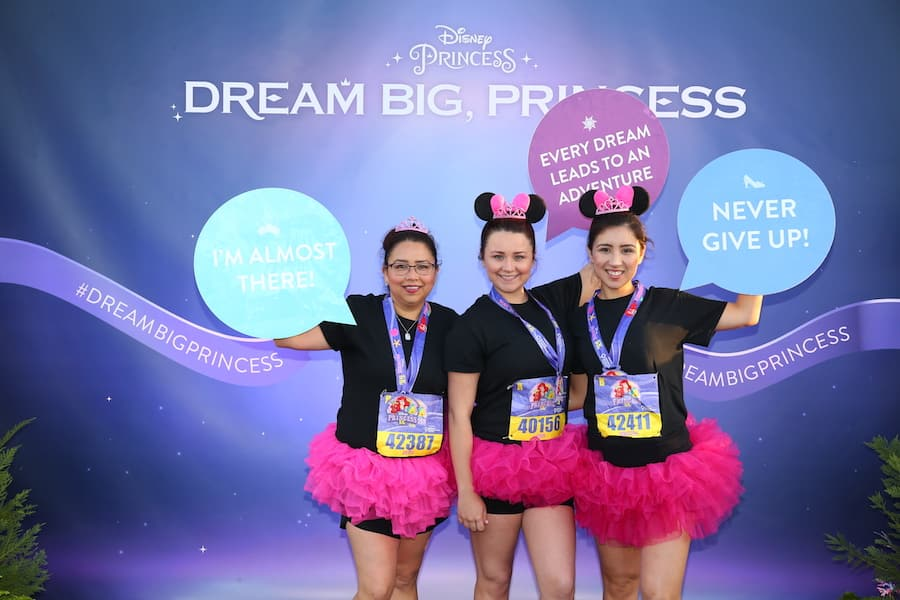 Dream Big, Princess at runDisney Princess Half Marathon Weekend