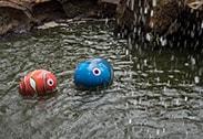 Marlin and Dory in the Disney Character Egg Hunt at Hong Kong Disneyland