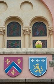 Tinkerbell in the Disney Character Egg Hunt at Hong Kong Disneyland