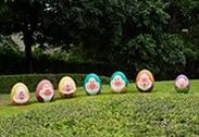 The Seven Dwarfs in the Disney Character Egg Hunt at Hong Kong Disneyland