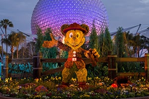Mickey Mouse Topiary at the Epcot Flower and Garden Festival at Walt Disney World Resort