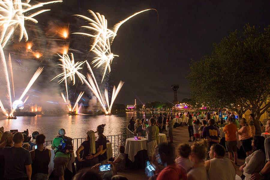 IllumiNations Sparkling Dessert Party at Epcot