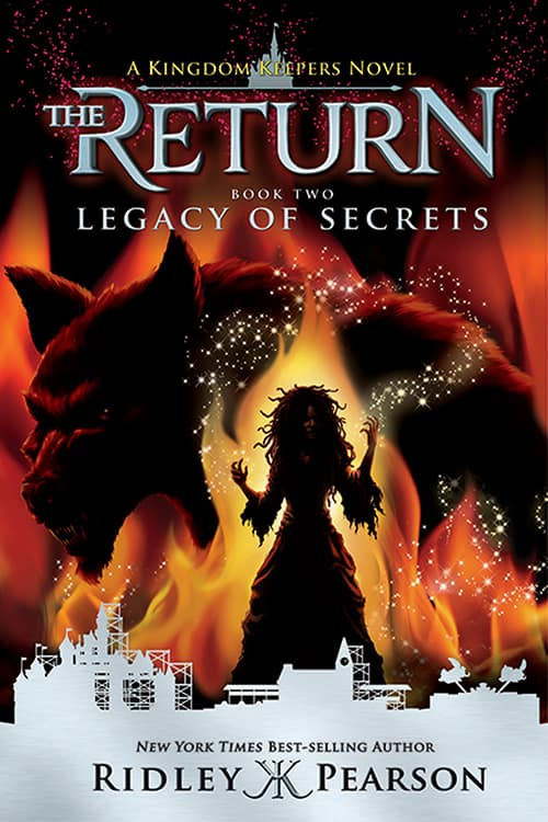 Kingdom Keepers: The Return, Book 2: Legacy of Secrets by Ridley Pearson at April's Disneyland Resort Merchandise Event 2016