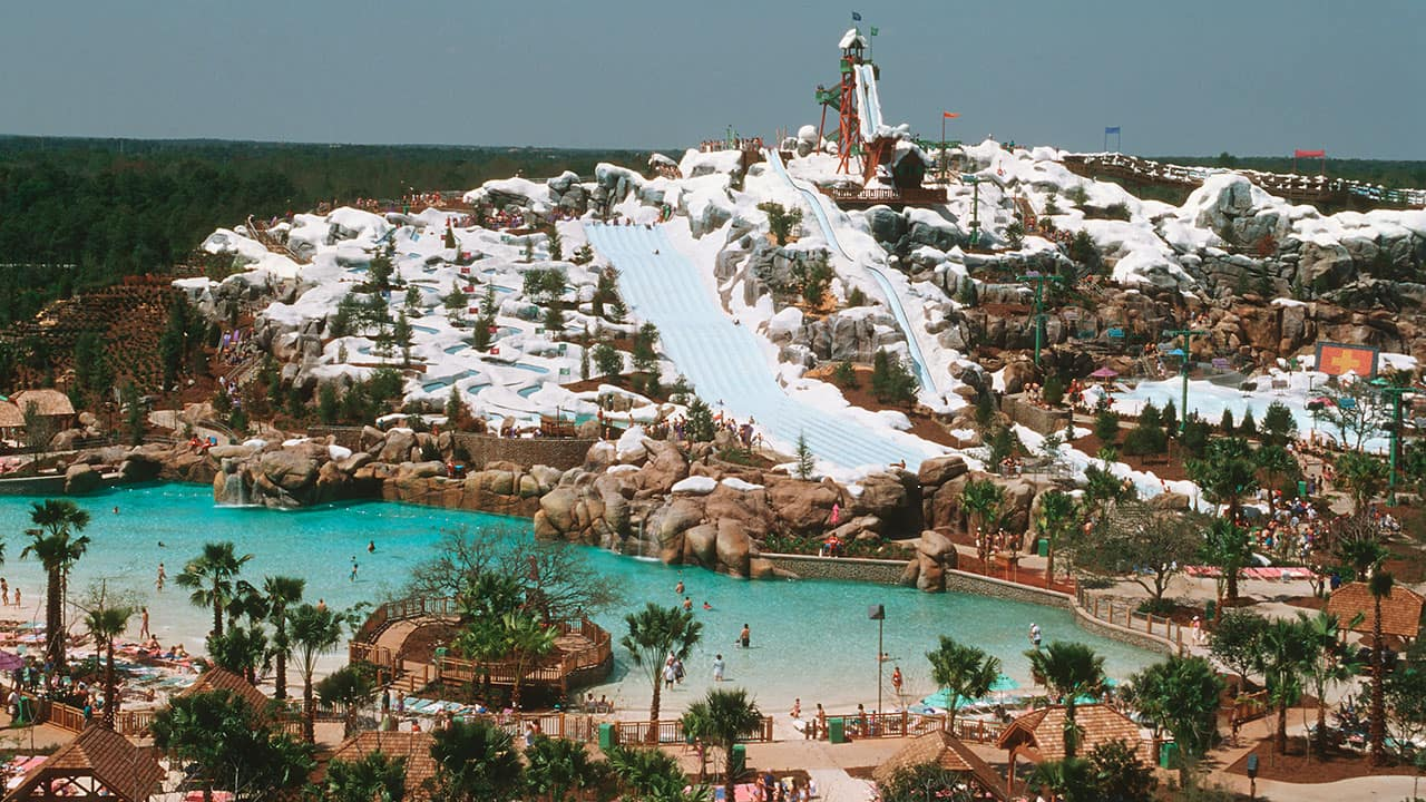 Today In Disney History Disney S Blizzard Beach Water Park Opens