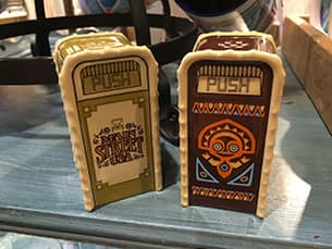 Salt and Pepper Shaker Trash Cans at Disney Parks