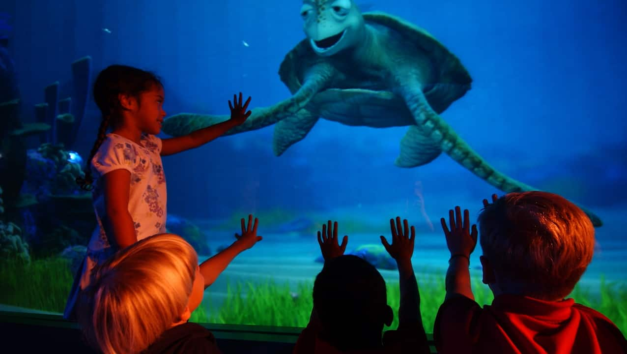 Characters from Disney•Pixar's 'Finding Dory' Join 'Turtle Talk ...