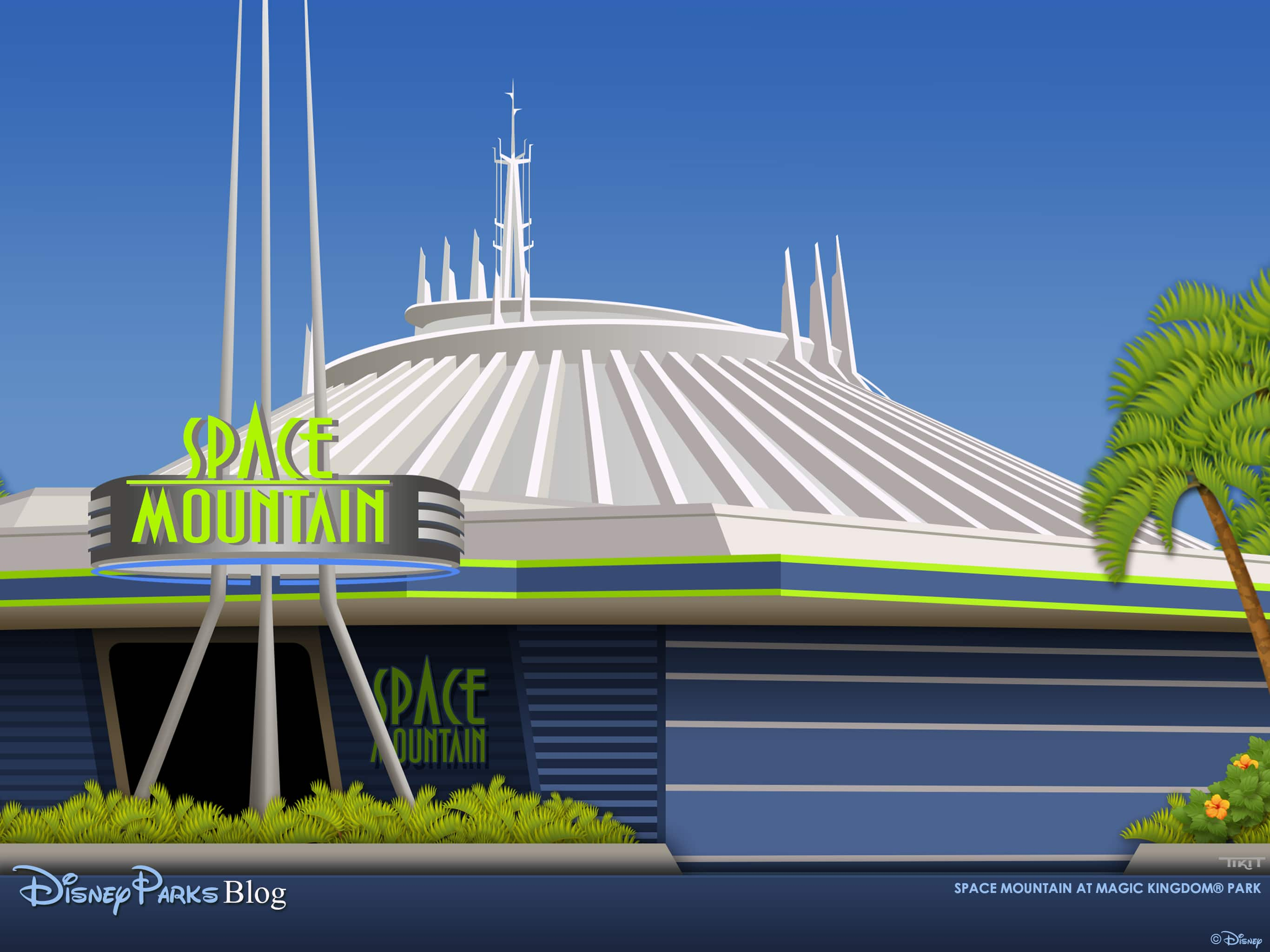 space mountain magic kingdom - HD 1440×900