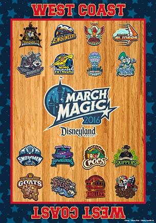 March Magic 2016 East Coast Teams