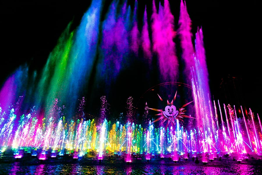 The World of Color Dessert Party