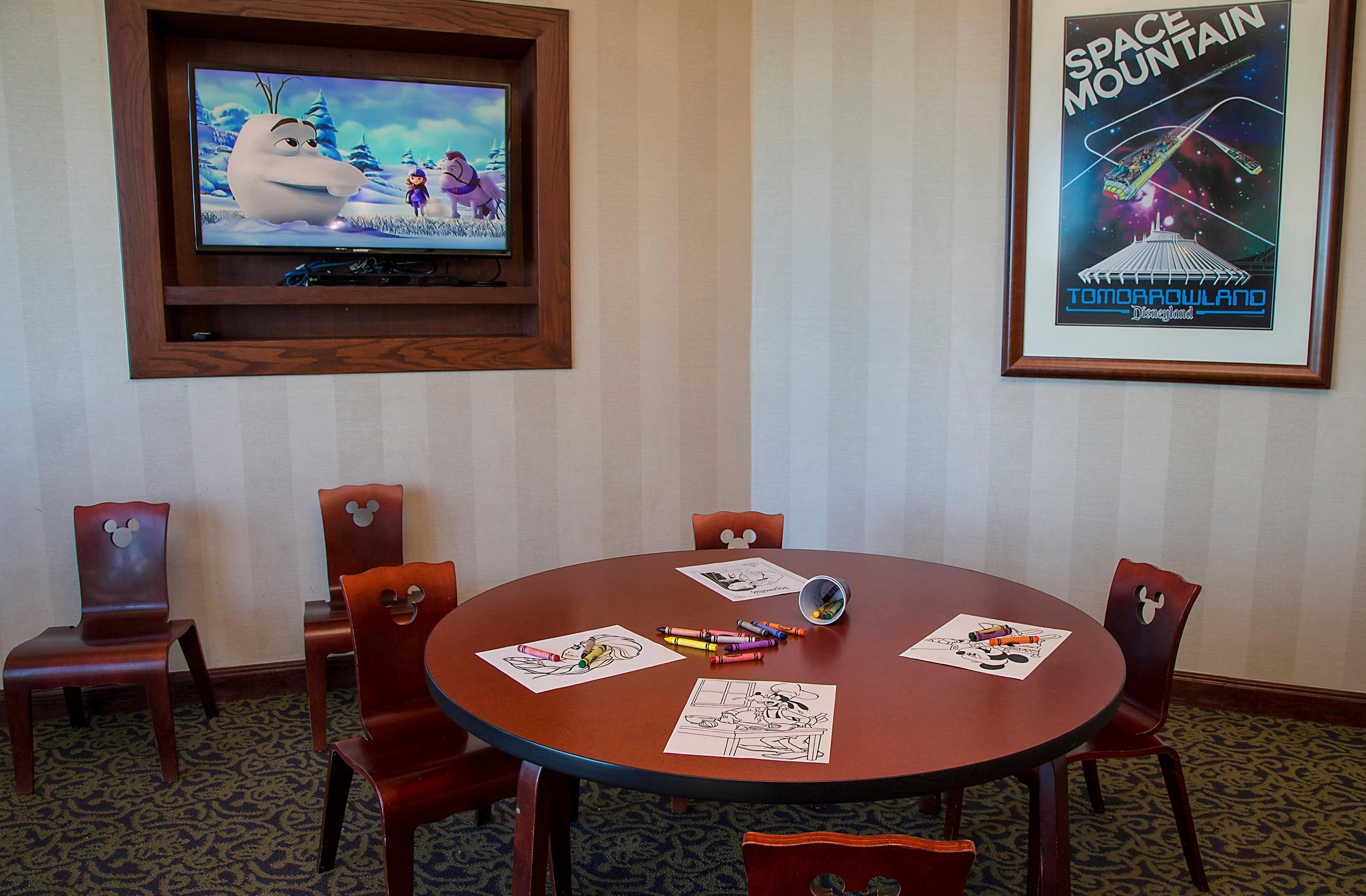Club-Level Service at the Disneyland Hotel
