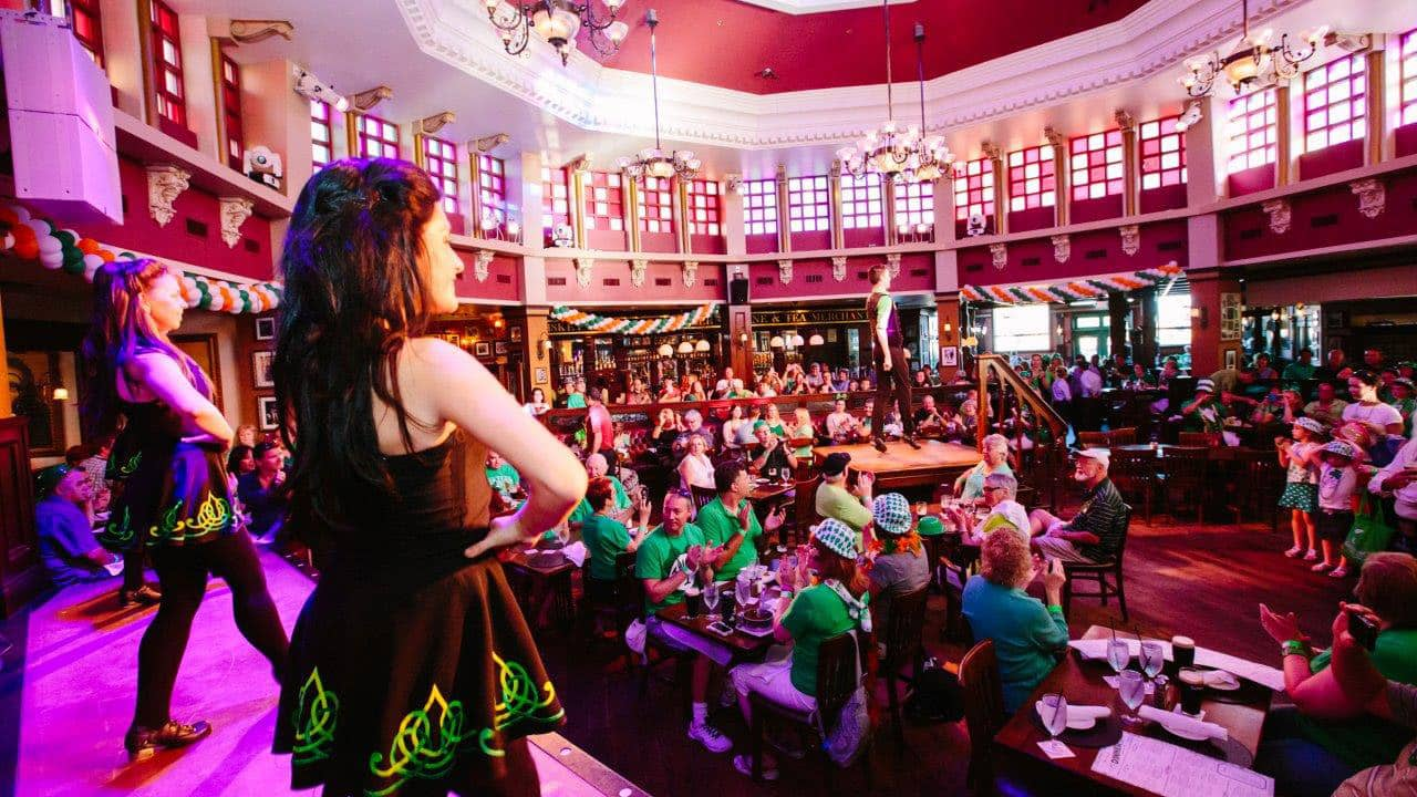 36546a68 The Mighty St. Patrick's Festival Returns to Raglan Road Irish Pub &  Restaurant at Disney Springs