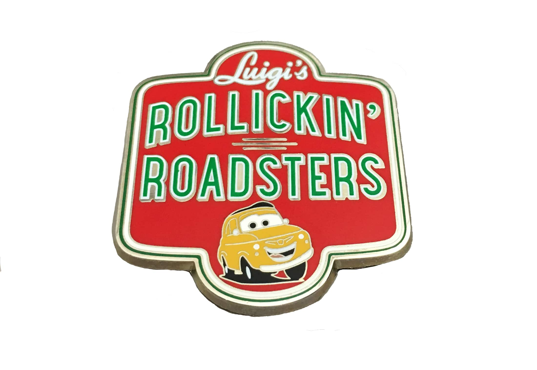 Make a Pit Stop for Luigi's Roillickin' Roadsters Pin