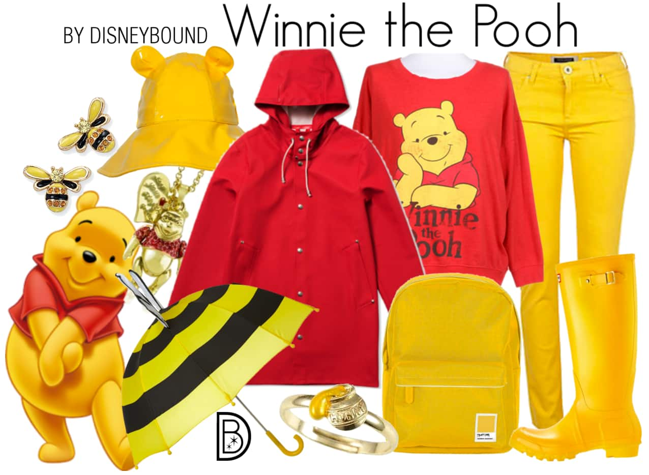 Tips for Creating the Perfect Rainy Day Outfit from DisneyBound Creator Leslie Kay
